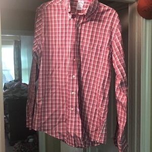 Men's non-iron Brooks Brothers dress shirt